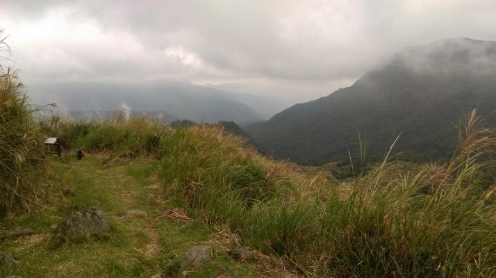 descending on the Japanese Trail