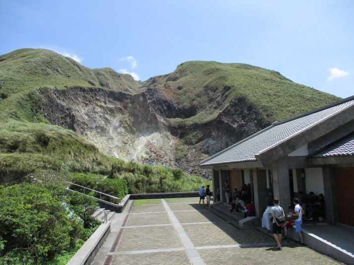 visitor center and hydrothermal vents