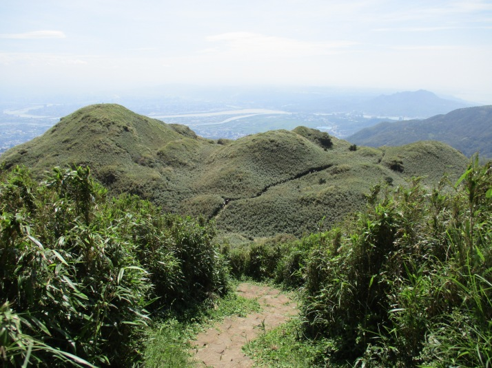final climb to the peak