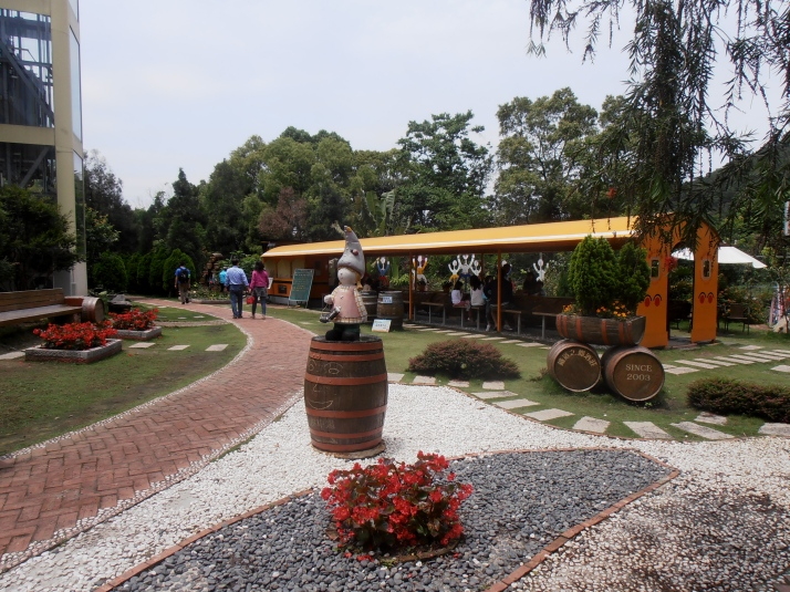 winery's garden