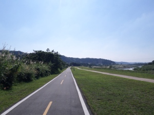 bike trail in Banchiao