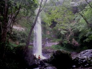 Pipadong Waterfall in heavy flow