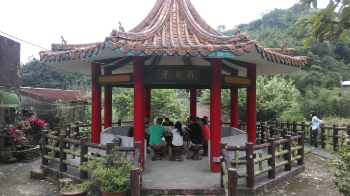 rest pavilion in Xinliao village