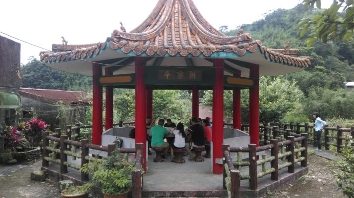 rest pavilion in Xinliao village