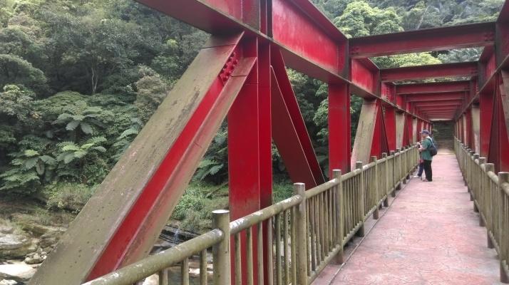 bridge crossing the Keelung River