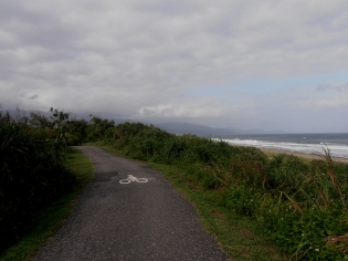 coastal bike trail