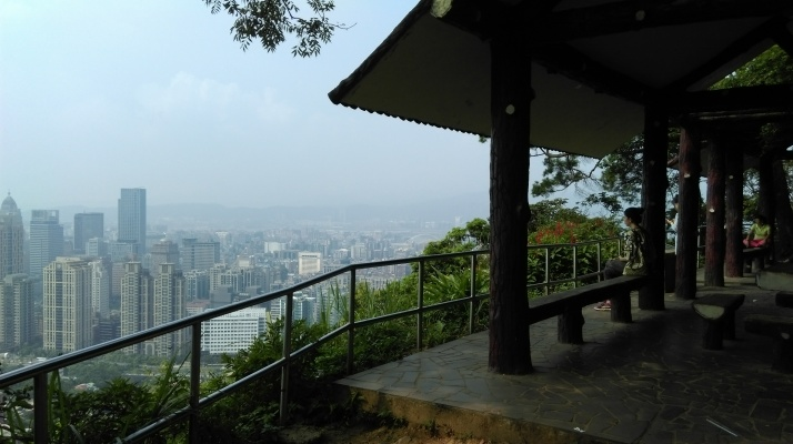 viewpoint on Elephant Mt.
