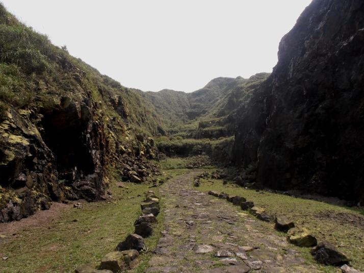 old mine pit