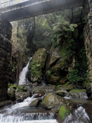 top of Datun Waterfall