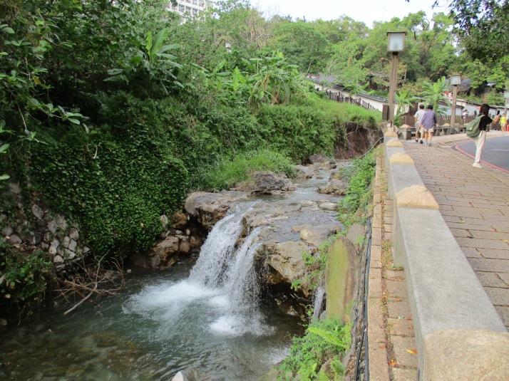 stream in Beitou