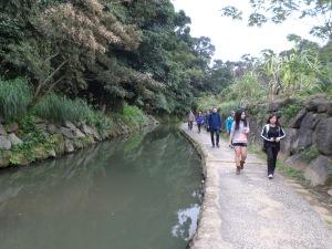 walk along the stream