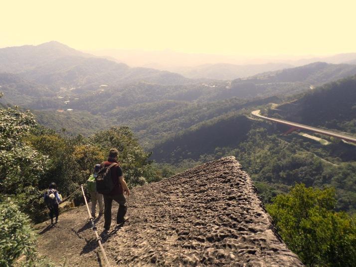 last exposed ridge