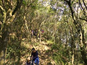 trail over Mt Nanbangliao