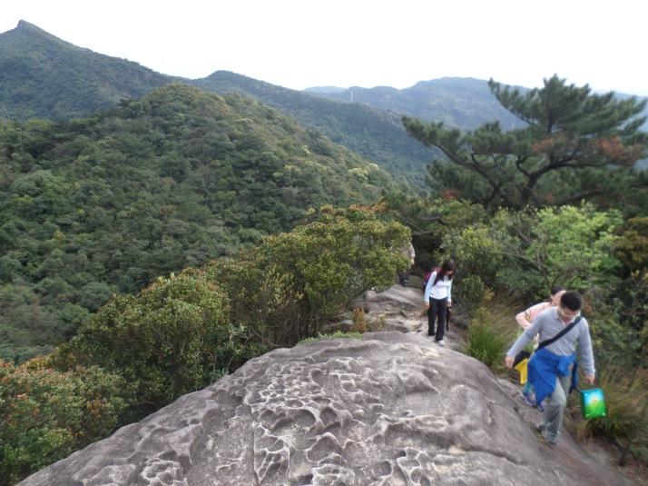 climbing Kezilin Mountain
