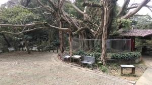 large rest area
