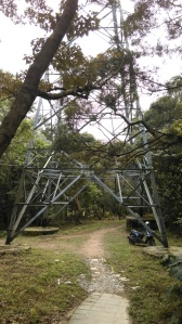 pass under the electrical tower