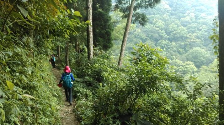 trail to Cloud Heart Falls