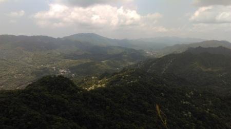 view from Zhongyang peak