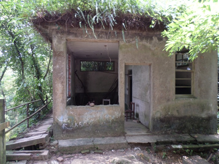 abandoned army guard post