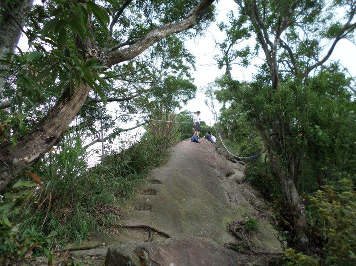 exposed ridge