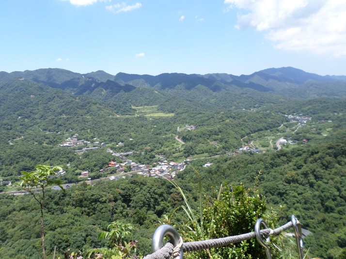 view of the Keelung River valley