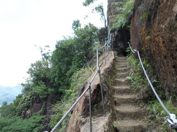 climbing Mt Xiaozi