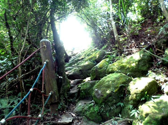 climb to the peak to Tianshang