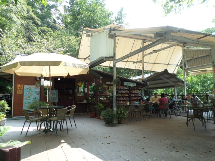 café on the road