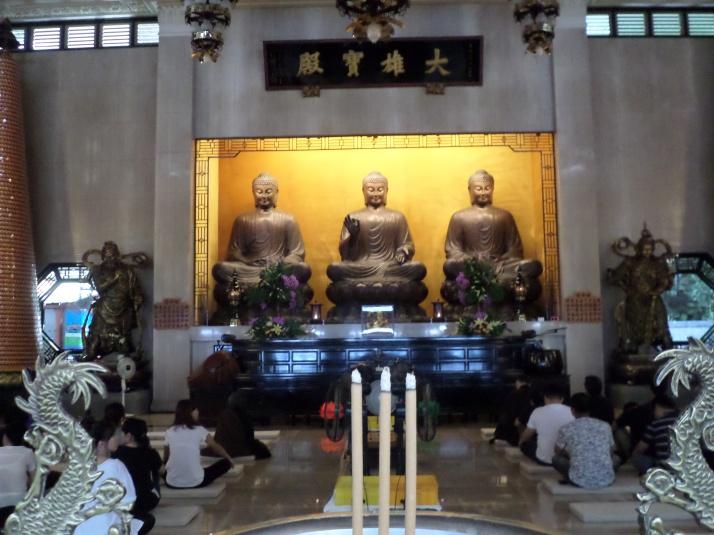 Chengtian Temple's main hall