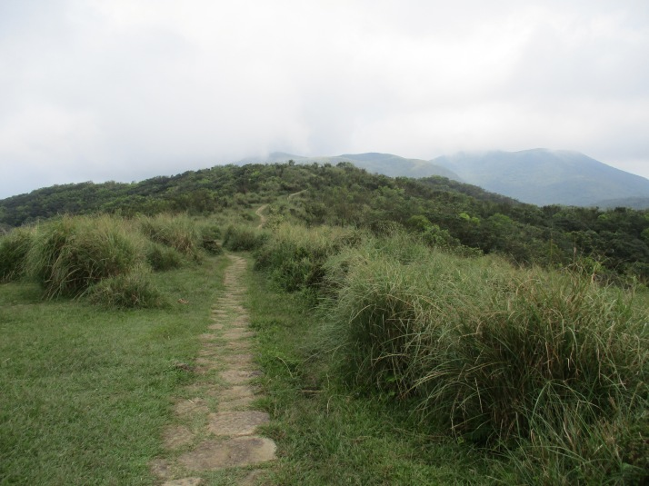 to the peak of Mt. Shiti