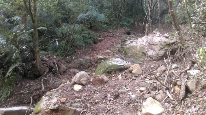 landslide crossing