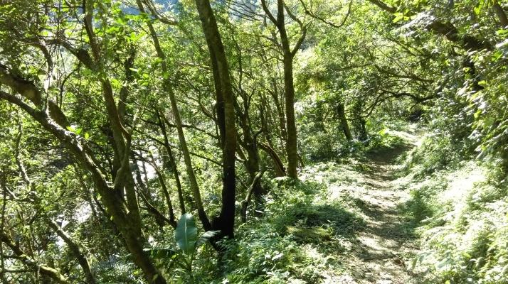 hiking towards Wantan