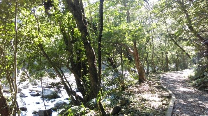 gravel trail