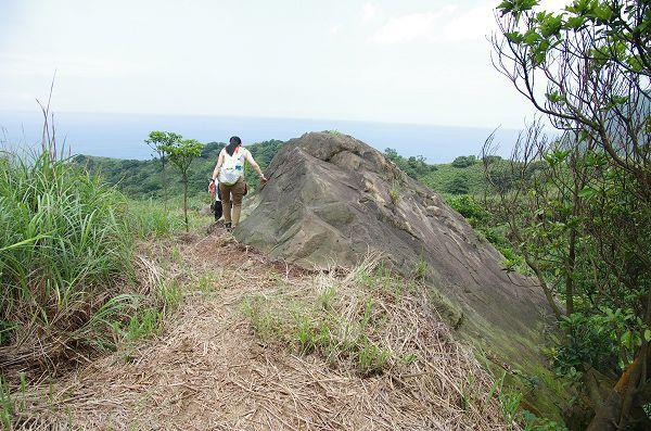 pass the boulder